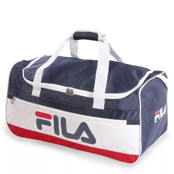 25515759a0 NWT! FILA Baywood Medium Sports Duffel Bag NWT